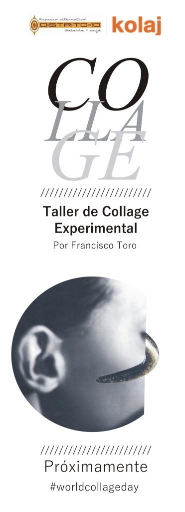 Proximamente Taller de Collage Experimental